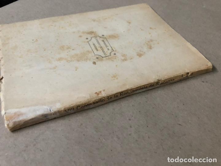 Libros antiguos: VIII CENTENARIO DE LA RECONQUISTA DE SIGUENZA POR EL PRESBÍTERO JULIÁN MORENO 1924. - Foto 13 - 208777711
