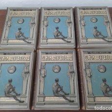 Libri antichi: EL HOMBRE Y LA TIERRA - ELISEO RECLUS - CASA EDITORIAL MAUCCI, BARCELONA. Lote 208784252