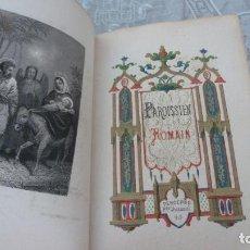 Libros antiguos: ANTIGUO PAROISSIEN ROMAIN - TOURS ALFRED MAME ET FILS EDITEURS 1879. VER FOTOS.. Lote 208814091