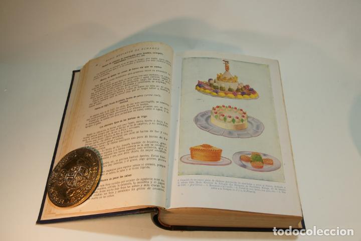 Libros antiguos: La cocina completa. Enciclopedia culinaria. María Mestayer de Echagüe. Espasa-Calpe. 1951. Madrid. - Foto 4 - 208826956