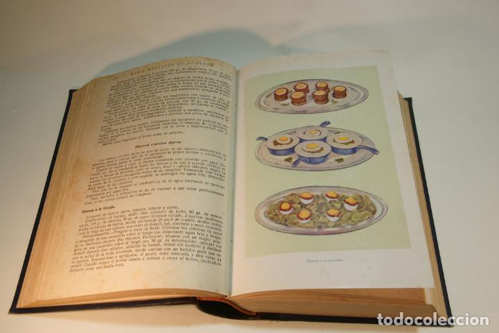 Libros antiguos: La cocina completa. Enciclopedia culinaria. María Mestayer de Echagüe. Espasa-Calpe. 1951. Madrid. - Foto 5 - 208826956