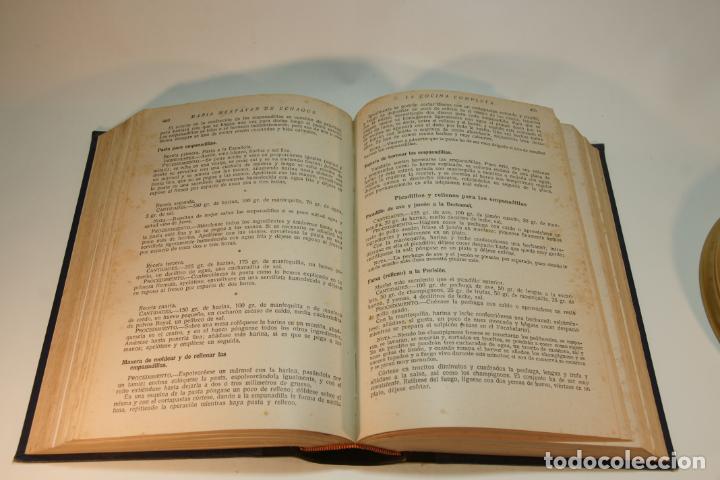 Libros antiguos: La cocina completa. Enciclopedia culinaria. María Mestayer de Echagüe. Espasa-Calpe. 1951. Madrid. - Foto 6 - 208826956