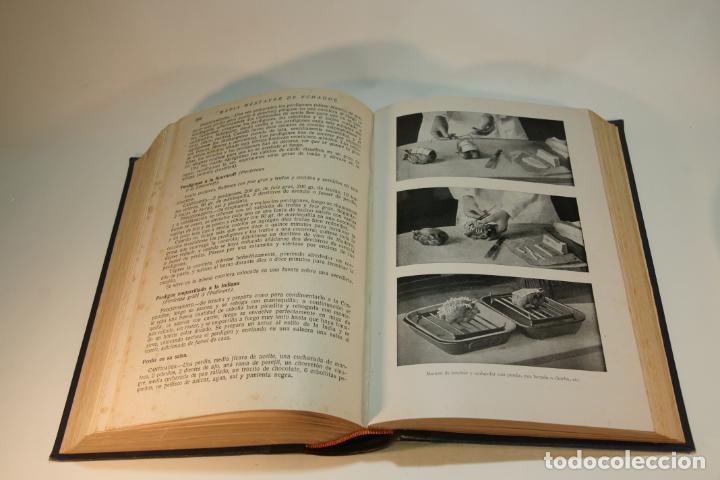 Libros antiguos: La cocina completa. Enciclopedia culinaria. María Mestayer de Echagüe. Espasa-Calpe. 1951. Madrid. - Foto 7 - 208826956