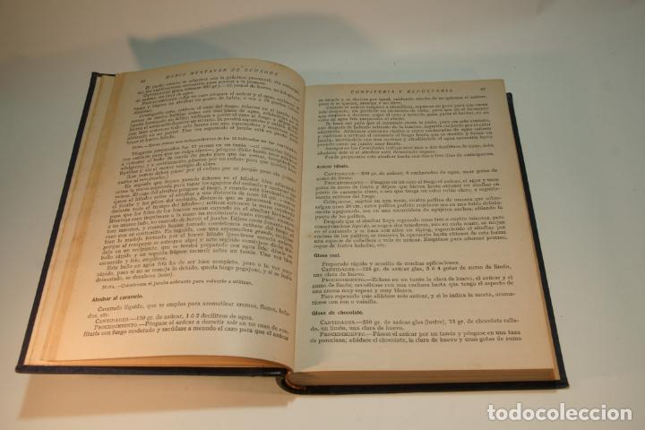 Libros antiguos: Confitería y repostería. María Mestayer de Echagüe. Espasa-Calpe. 1950. Madrid. - Foto 3 - 208828651