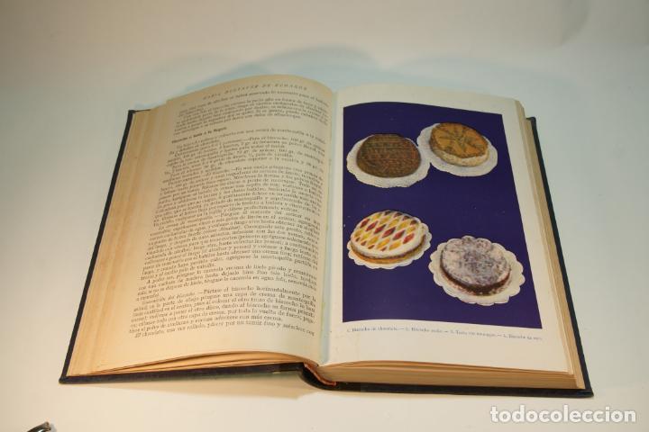 Libros antiguos: Confitería y repostería. María Mestayer de Echagüe. Espasa-Calpe. 1950. Madrid. - Foto 4 - 208828651