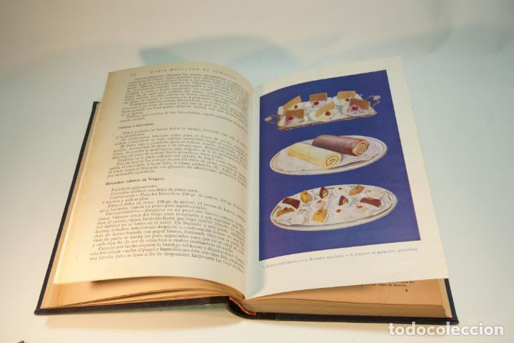 Libros antiguos: Confitería y repostería. María Mestayer de Echagüe. Espasa-Calpe. 1950. Madrid. - Foto 5 - 208828651