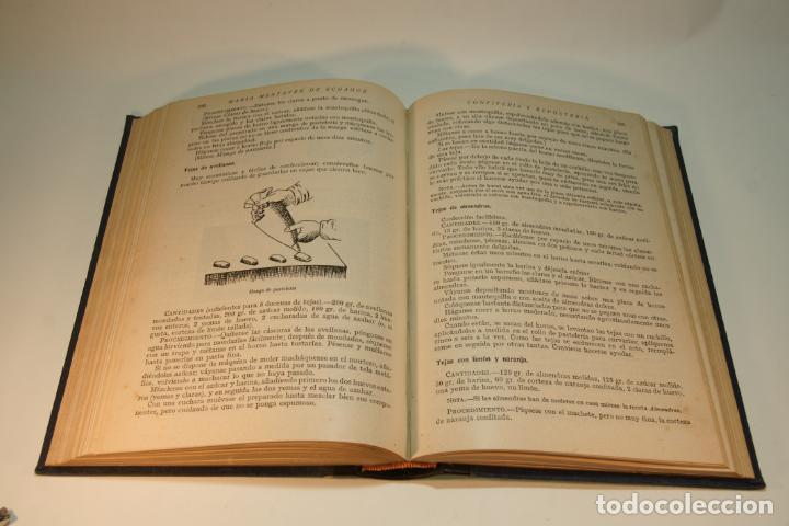 Libros antiguos: Confitería y repostería. María Mestayer de Echagüe. Espasa-Calpe. 1950. Madrid. - Foto 6 - 208828651