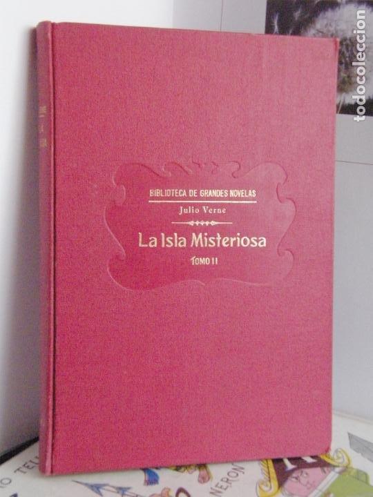 Libros antiguos: LA ISLA MISTERIOSA - JULIO VERNE - 1933 - BIBLIOTECA DE GRANDES NOVELAS - Foto 4 - 208849981