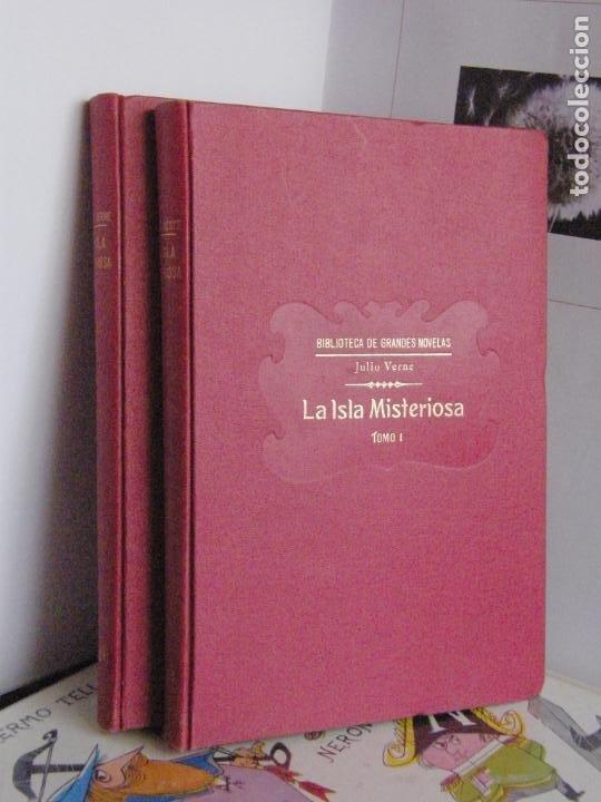 LA ISLA MISTERIOSA - JULIO VERNE - 1933 - BIBLIOTECA DE GRANDES NOVELAS (Libros antiguos (hasta 1936), raros y curiosos - Literatura - Narrativa - Otros)