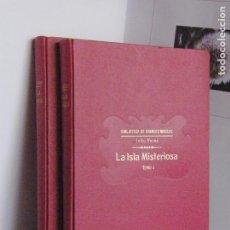 Libros antiguos: LA ISLA MISTERIOSA - JULIO VERNE - 1933 - BIBLIOTECA DE GRANDES NOVELAS. Lote 208849981