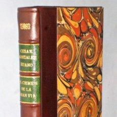 Libros antiguos: EL CRIMEN DE LA GRAN VÍA. Lote 208948611