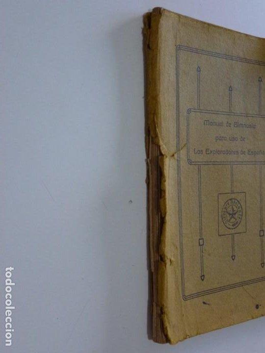 Libros antiguos: Exploradores de España Boy Scouts - Manual de Gimnasia - 1917 - Foto 2 - 209052776