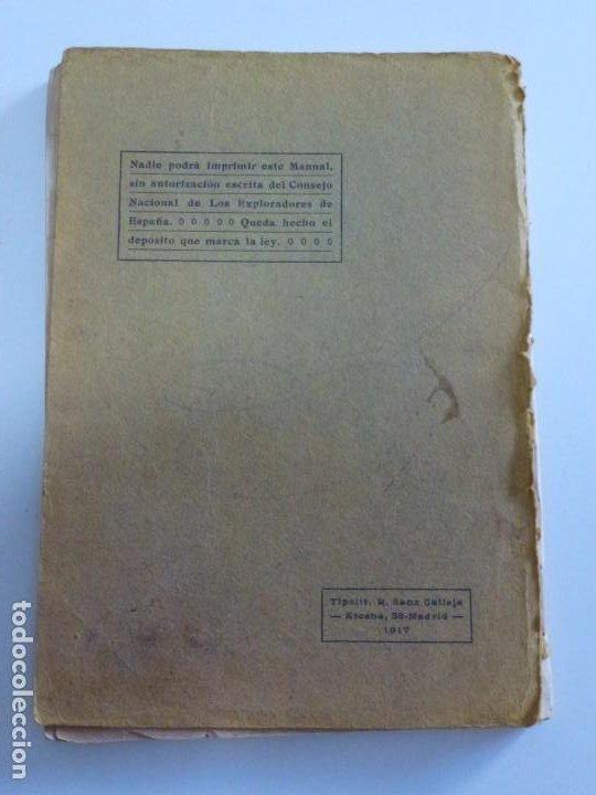 Libros antiguos: Exploradores de España Boy Scouts - Manual de Gimnasia - 1917 - Foto 3 - 209052776