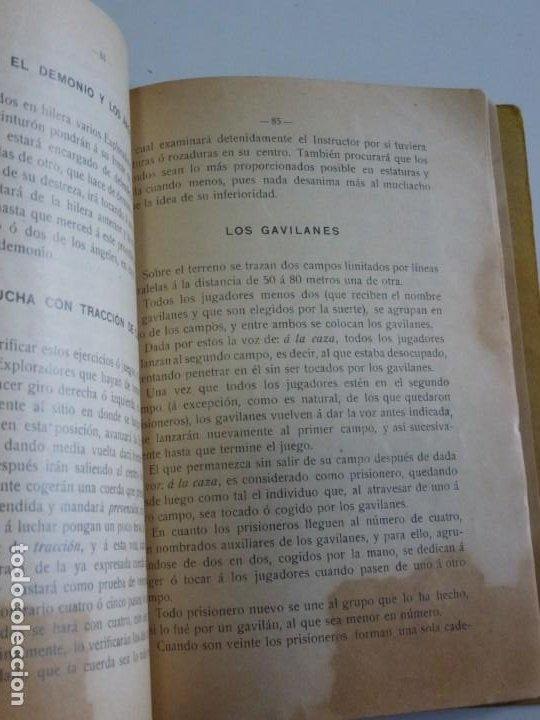 Libros antiguos: Exploradores de España Boy Scouts - Manual de Gimnasia - 1917 - Foto 8 - 209052776
