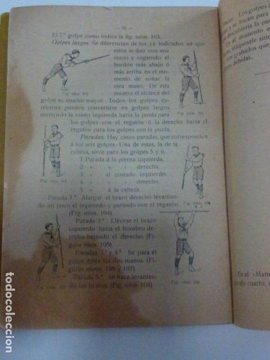 Libros antiguos: Exploradores de España Boy Scouts - Manual de Gimnasia - 1917 - Foto 9 - 209052776