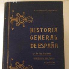 Libros antiguos: HISTORIA GENERAL DE ESPAÑA 5 PRIMEROS TOMOS. Lote 209094631