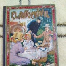Libros antiguos: 1912. EL AUTOMÓVIL. MANUEL MARINEL. LO.. Lote 209113950