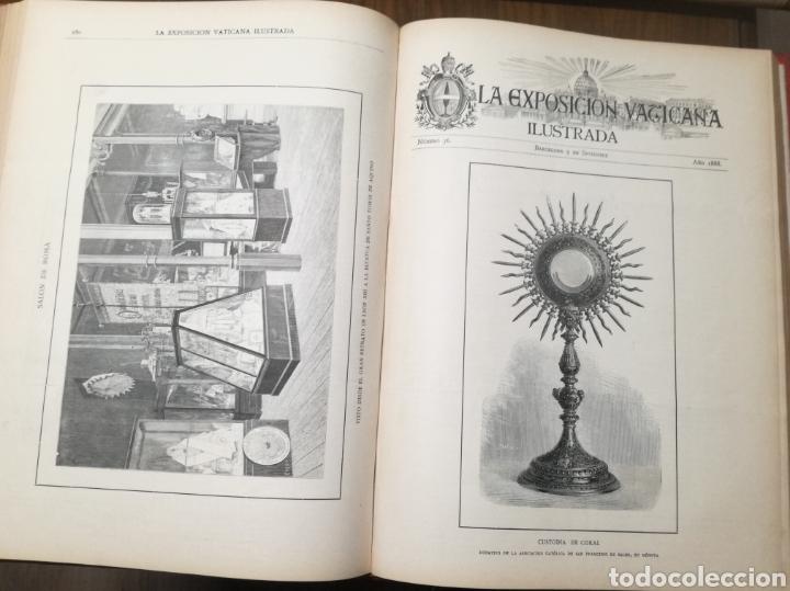 Libros antiguos: Libro: La exposición Vaticana - EJEMPLAR UNICO - 1887 - Foto 2 - 209114520