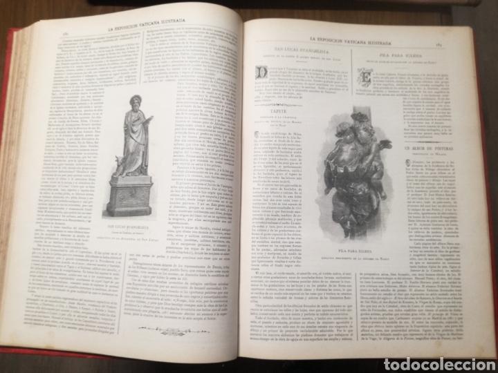 Libros antiguos: Libro: La exposición Vaticana - EJEMPLAR UNICO - 1887 - Foto 3 - 209114520