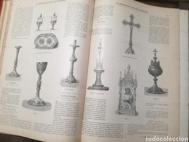 Libros antiguos: Libro: La exposición Vaticana - EJEMPLAR UNICO - 1887 - Foto 4 - 209114520