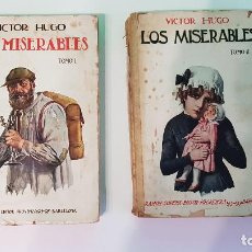 Libros antiguos: LOS MISERABLES. VICTOR HUGO. EDITORIAL SOPENA.. Lote 209126351