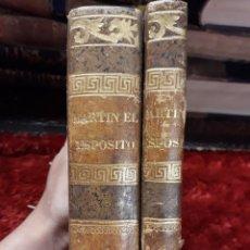Libros antiguos: MARTÍN EL EXPÓSITO. TOMOS 2 Y 3. Lote 209191338