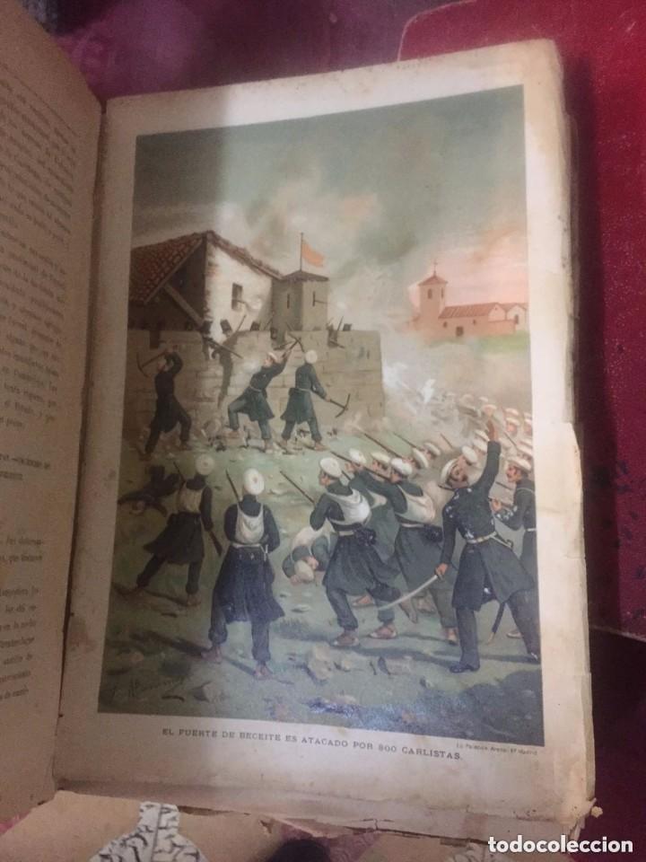 Libros antiguos: Antonio Pirala. Historia de la guerra civil y de los partidos Liberal y Carlista. 3 edicion. - Foto 2 - 209218236