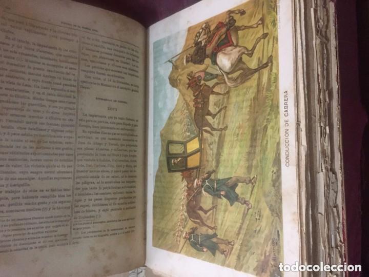 Libros antiguos: Antonio Pirala. Historia de la guerra civil y de los partidos Liberal y Carlista. 3 edicion. - Foto 4 - 209218236