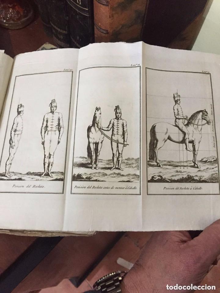 CABALLERIA. VOLUMEN CON 73 LAMINAS GRABADAS PARA LA INSTRUCCIÓN DE LOS REGIMIENTOS DE CABALLERÍA (Libros Antiguos, Raros y Curiosos - Historia - Otros)