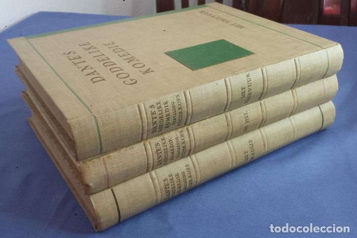 Libros antiguos: Libro holandés, Dantes Goddelijke Komedie, Edición limitada Nº 893/1025 - Foto 7 - 209234038