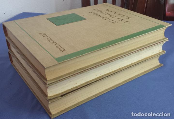 Libros antiguos: Libro holandés, Dantes Goddelijke Komedie, Edición limitada Nº 893/1025 - Foto 9 - 209234038