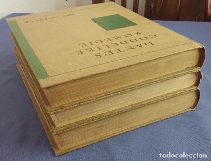 Libros antiguos: Libro holandés, Dantes Goddelijke Komedie, Edición limitada Nº 893/1025 - Foto 10 - 209234038