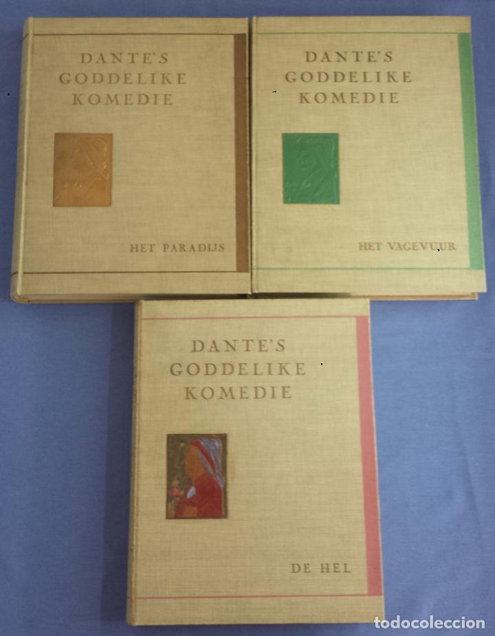 Libros antiguos: Libro holandés, Dantes Goddelijke Komedie, Edición limitada Nº 893/1025 - Foto 11 - 209234038