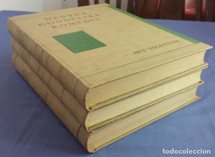 Libros antiguos: Libro holandés, Dantes Goddelijke Komedie, Edición limitada Nº 893/1025 - Foto 12 - 209234038