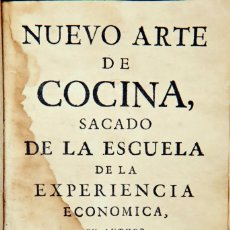 Livres anciens: NUEVO ARTE DE COCINA - JUAN ALTAMIRAS - 1767. Lote 209234477