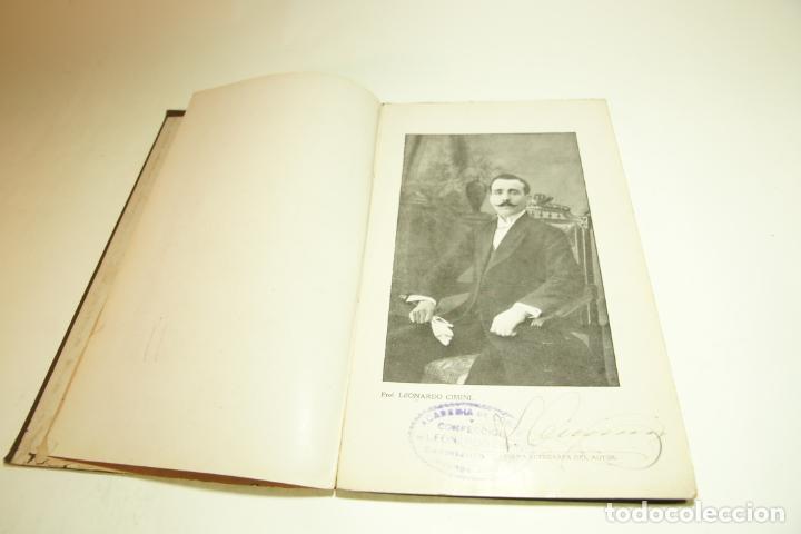 Libros antiguos: La economía del cortador sastre. Prof. Leonardo Cimini. Firmado por el autor. Buenos Aires. 1913. - Foto 3 - 209420057