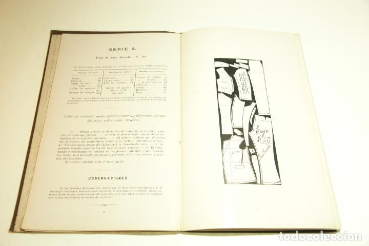 Libros antiguos: La economía del cortador sastre. Prof. Leonardo Cimini. Firmado por el autor. Buenos Aires. 1913. - Foto 9 - 209420057