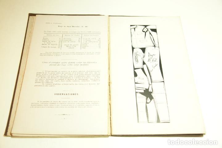 Libros antiguos: La economía del cortador sastre. Prof. Leonardo Cimini. Firmado por el autor. Buenos Aires. 1913. - Foto 10 - 209420057