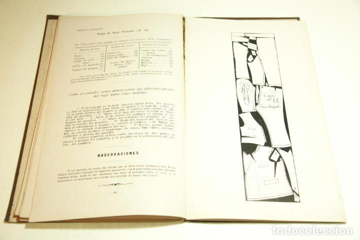 Libros antiguos: La economía del cortador sastre. Prof. Leonardo Cimini. Firmado por el autor. Buenos Aires. 1913. - Foto 11 - 209420057