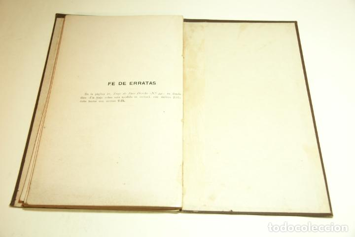 Libros antiguos: La economía del cortador sastre. Prof. Leonardo Cimini. Firmado por el autor. Buenos Aires. 1913. - Foto 12 - 209420057