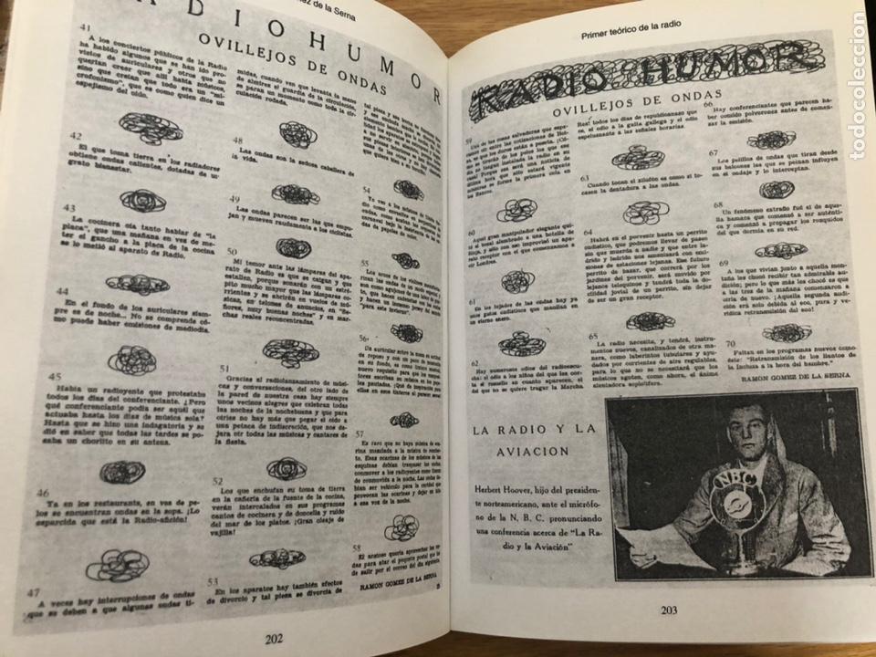 Libros antiguos: Ramon Gómez de la Serna. Radiodifusión Augusto ventin Pereira - Foto 2 - 209560606