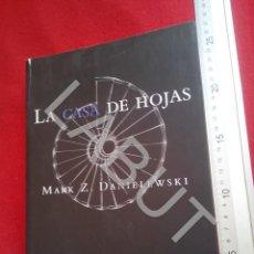 Libri antichi: TUBAL LA CASA DE HOJAS MARK Z DANIELEWSKI U30. Lote 209583233