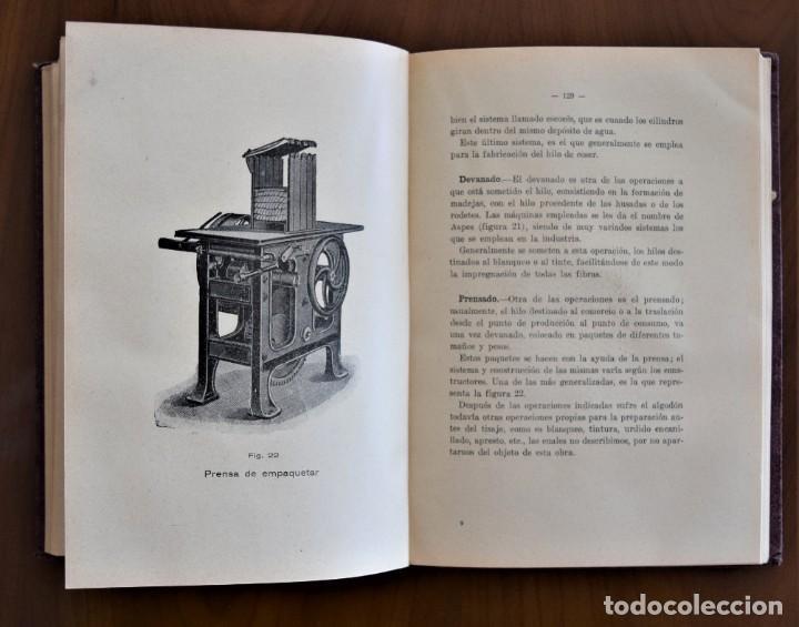 Libros antiguos: HILATURA DEL ALGODON - A. CASTELLS BRASES - CASA EDIT. FELIU Y SUSANNA - AÑO 1927 - Foto 9 - 26181565