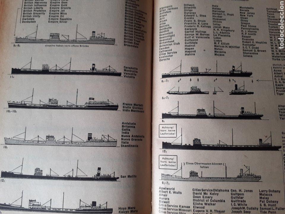 Libros antiguos: Libro flota de guerra alemana Segunda Guerra Mundial 1942 - Foto 2 - 209710195