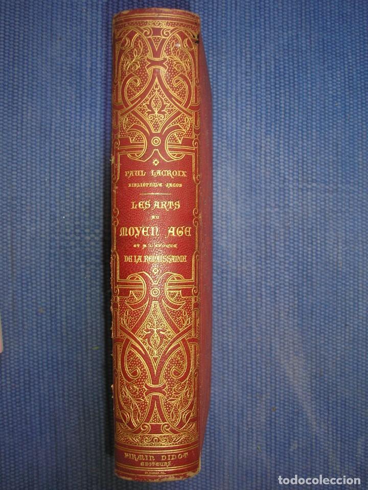 Libros antiguos: LAS ARTES EN LA EDAD MEDIA Y EL RENACIMIENTO - LITOGRAFÍAS - GRABADOS - - Foto 2 - 209757480