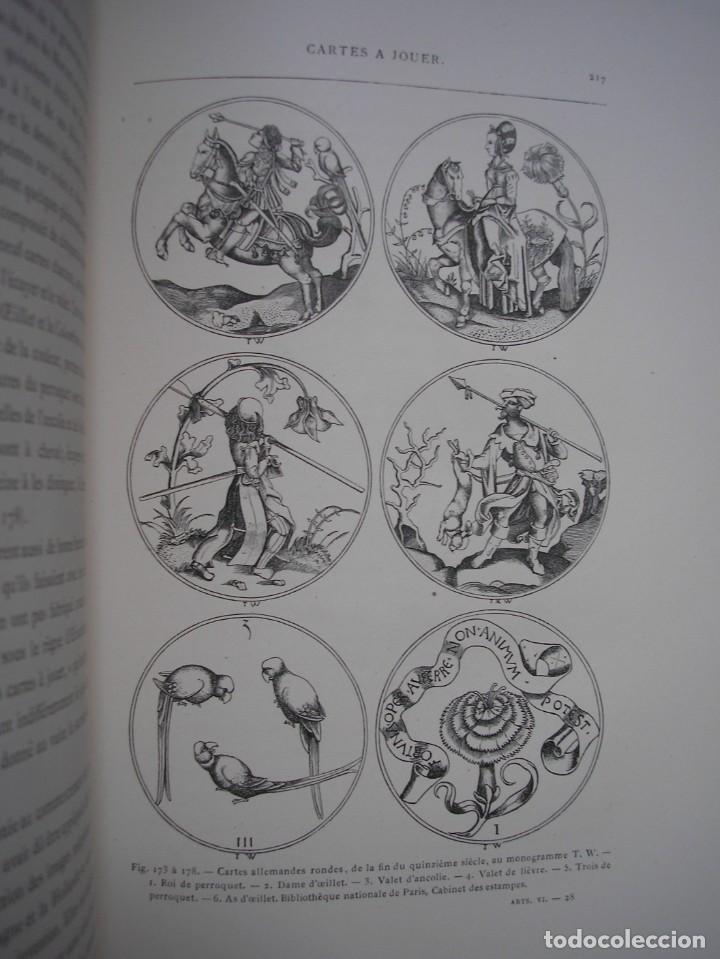 Libros antiguos: LAS ARTES EN LA EDAD MEDIA Y EL RENACIMIENTO - LITOGRAFÍAS - GRABADOS - - Foto 13 - 209757480