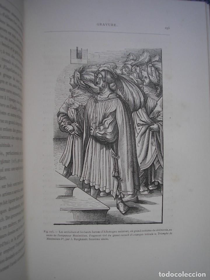 Libros antiguos: LAS ARTES EN LA EDAD MEDIA Y EL RENACIMIENTO - LITOGRAFÍAS - GRABADOS - - Foto 20 - 209757480
