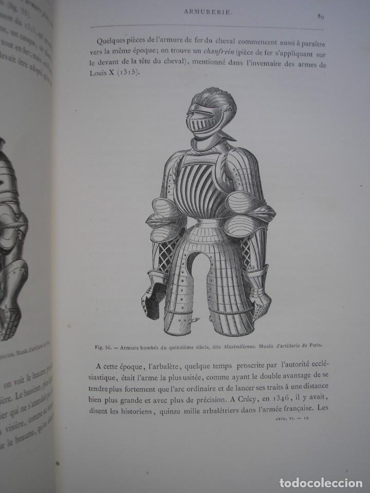 Libros antiguos: LAS ARTES EN LA EDAD MEDIA Y EL RENACIMIENTO - LITOGRAFÍAS - GRABADOS - - Foto 27 - 209757480