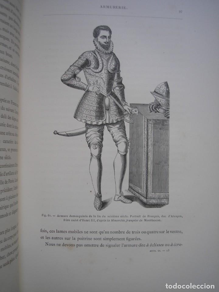 Libros antiguos: LAS ARTES EN LA EDAD MEDIA Y EL RENACIMIENTO - LITOGRAFÍAS - GRABADOS - - Foto 29 - 209757480