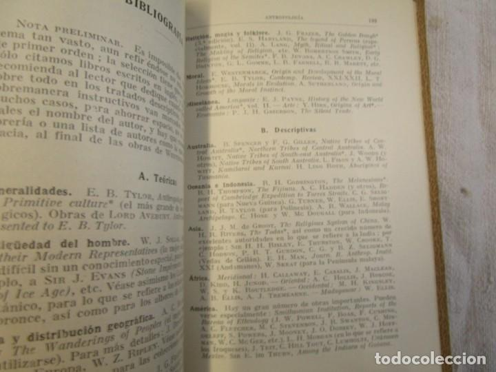 Libros antiguos: ANTROPOLOGÍA - MERETT - COL LABOR Nº31 1931 EXCELENTE CORREO 2.40€ + INFO - Foto 4 - 209826720